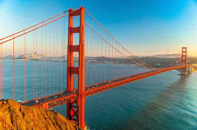 Things to do in California Golden Gate Bridge