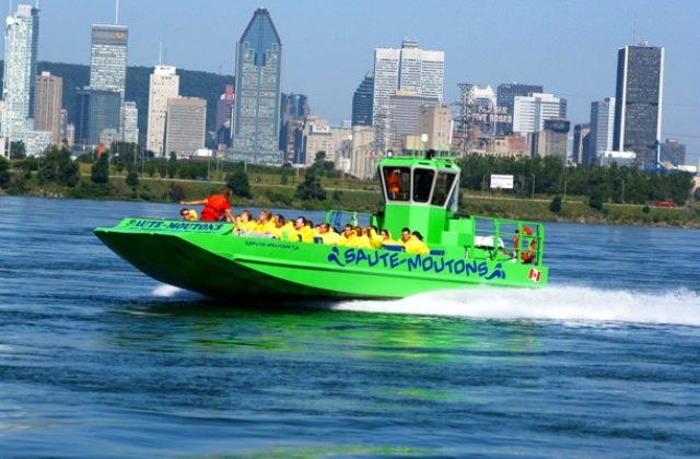 Things to do in Montreal Jet Boating