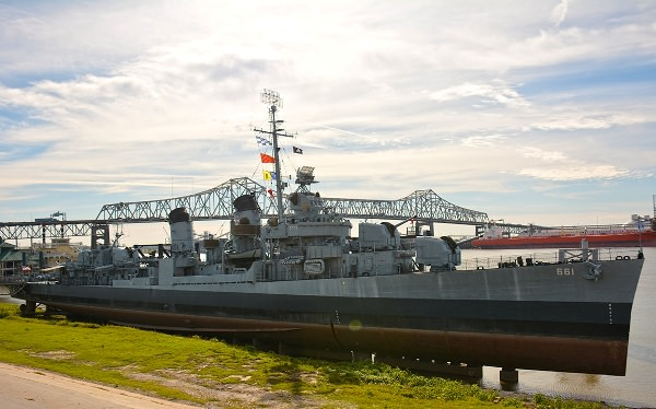 things to do in Baton rouge USS Kidd and Veterans Memorial