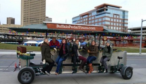 Things to do in Buffalo NY Buffalo Pedal Tours