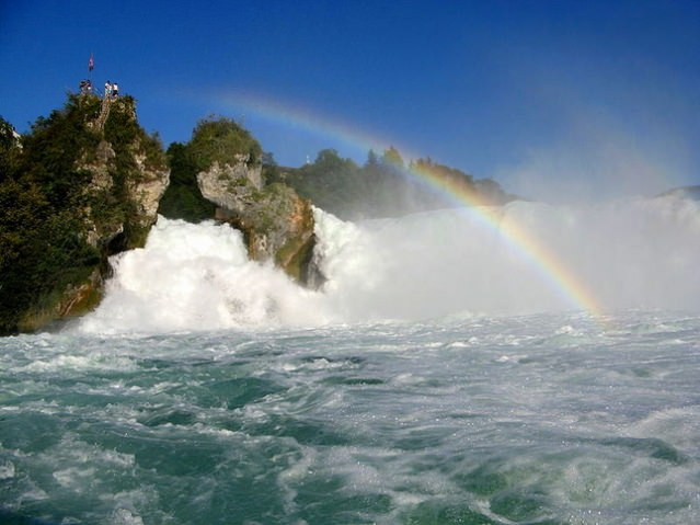 Things to do in Zurich Rhine Falls