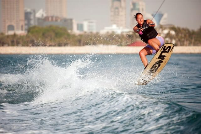 Things to do in Abu Dhabi Wakeboarding