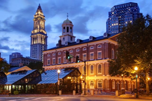 Things to do in Boston Faneuil Hall