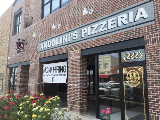 Things to do in Tulsa andolini pizzeria