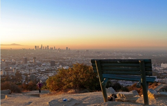 LA Things to do runyon canyon