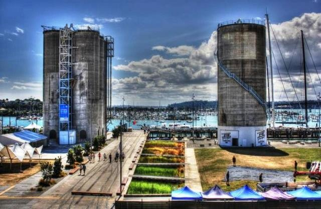 Things to do in Auckland silo park