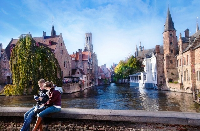 Things to do in Bruges Rozenhoedkaai
