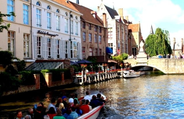 Things to do in Bruges cruise the canal