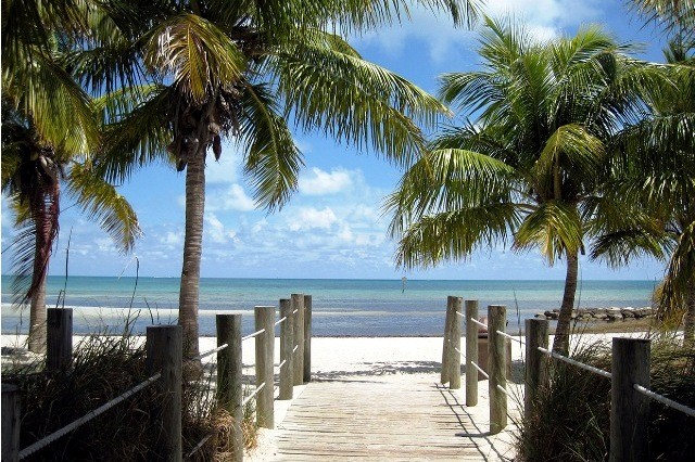 Things to do in Key West Florida smathers beach