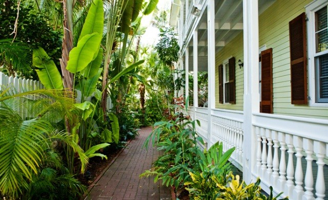 Things to do in Key West Florida tropical gardens