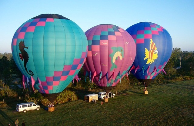 Things to do in Kissimmee hot air balloon ride