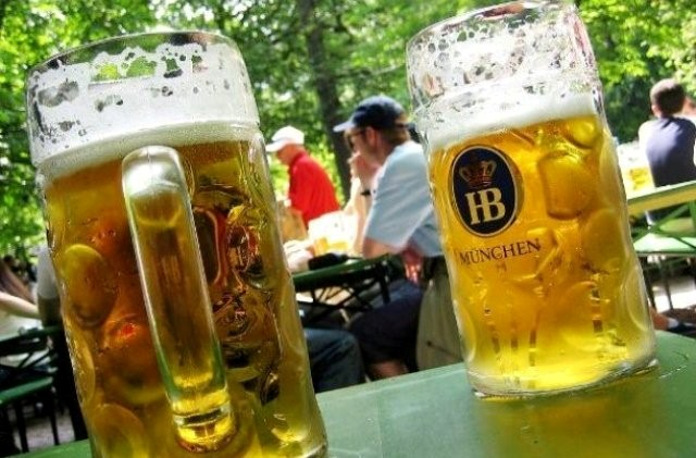 Things to do in Munich beer garden