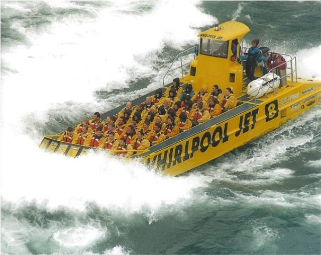 Things to do in Niagara Falls Canada Whirlpool Jet Boat Tour