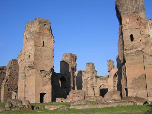 Things to do in Rome Baths of Caracalla