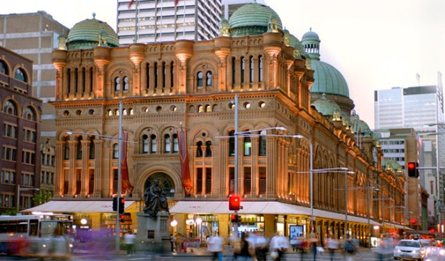 sydney things to do queen victoria building