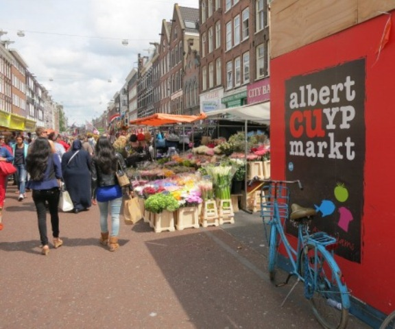 things to do in amsterdam albert syrup market