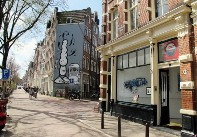 things to do in amsterdam galleries