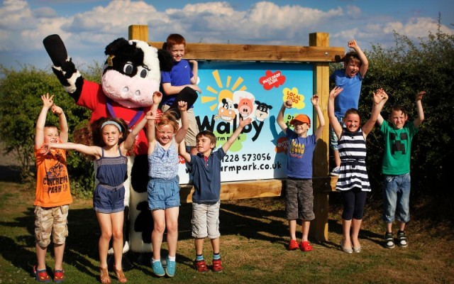 things to do in cumbria walby farm park