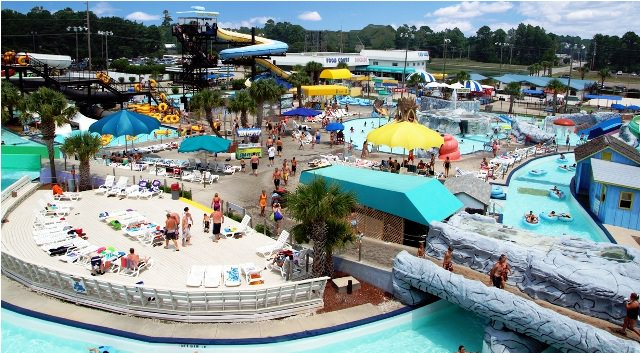 Things To Do In Myrtle Beach Waves Water Park